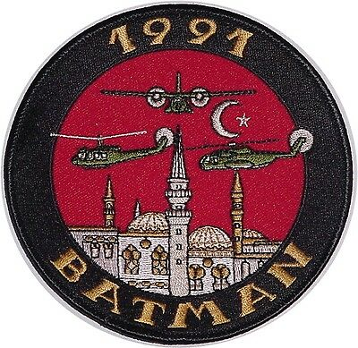 Patch Aufnäher NATO BATMAN 1991 Special Operations Joint Task Force .......A4660