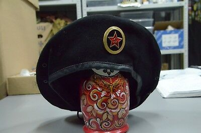 08de56834a9 RUSSIAN BLACK HATS MARINE beret Military Soviet Army WWII USSR ...