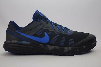 Nike Dual Fusion Trail 2 Black/Cobalt Men's Size 8-13 New in Box 819146 004