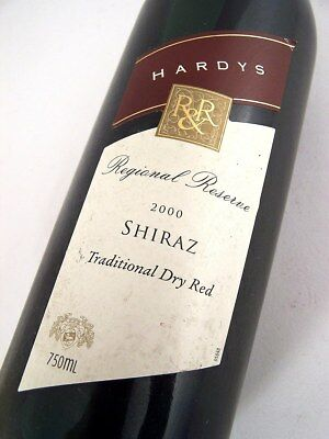 2000 HARDYS RR Shiraz Isle of Wine