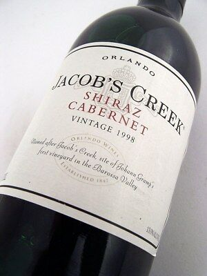 1998 ORLANDO Jacobs Creek Shiraz Cabernet Isle of Wine