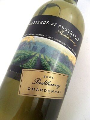 2005 HARDYS Vineyards Of Australia Padthaway Chardonnay Isle of Wine