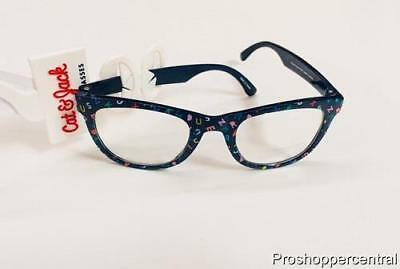 NEW Cat & Jack Girls Kids Accessories Fashion Eyeglasses, Alphabet Letters Frame