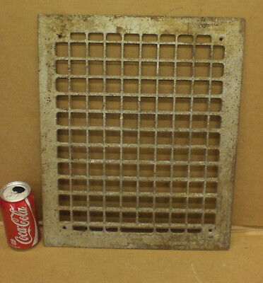 Antique Vintage Cast Iron Floor Heat Grate Register Vent Cover 17X14 OLD HOUSE