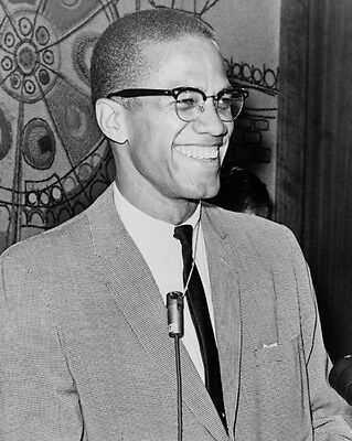 Human Rights MALCOLM X Glossy 8x10 Photo Historical Print Minister Poster