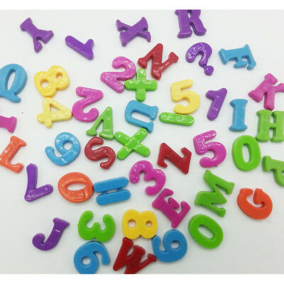 Baby Educational Letter Fridge Magnet Magnetic Puzzle Toy alphabet Stickers UQ