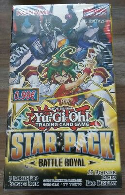 Yo Gi Oh Star Pack Battel Royal Display OVP und Neu !