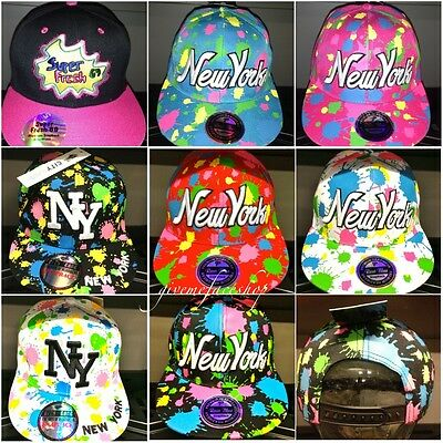 fd5fa85d18e PAINT SPLASH SNAPBACK caps