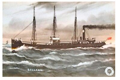 BELLAMBI - Bellambi Coal Co, Sydney by G F Gregory Postcard Modern Digital Art