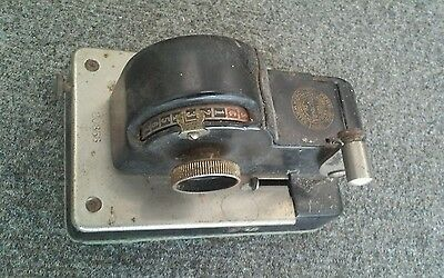 Vintage Antique Personal Protectograph Check Writer Model 3500 NY USA TODD CO