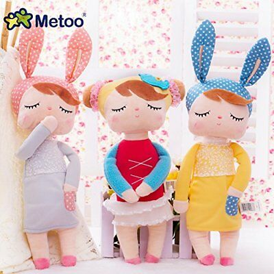 Cute Metoo Angela Rabbit Dolls Cartoon Animal Design Stuffed Babies Plush Doll