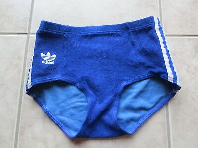 Adidas Frottee Shorts Hotpants Turnhose Oldschool Vintage ungetragen Top Zustand