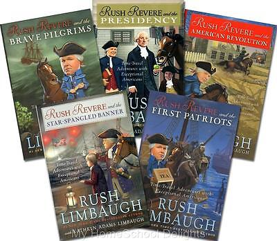 NEW Rush Revere Complete 5 Book SET Sealed Limbaugh American History Homeschool