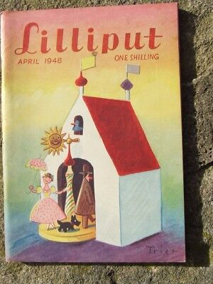 """Lilliput"" magazine 1948 April."