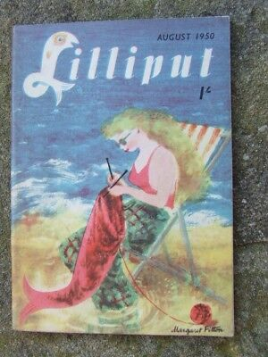 """Lilliput"" magazine 1950 August.  (A)"