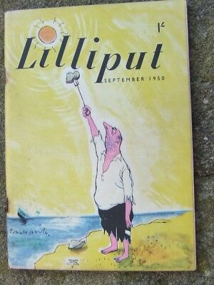"""Lilliput"" magazine 1950 September."