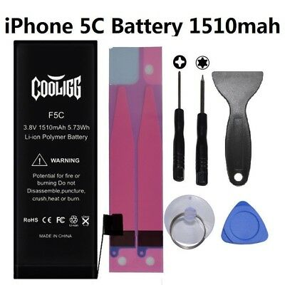 Cooligg 1510mAh iPhone 5C Li-ion Internal Replacement Battery w/ Flex Cable