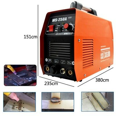 10-250A Welding Machine TIG MMA WS-250 Electric Welder Arc IGBT Inverter 220VAC