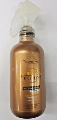 Tropitone Sunless Bronze Self Tan Spray for Body - Medium Tan 250ml