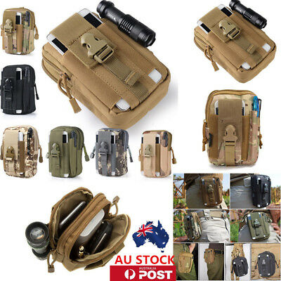 Tactical Waist Pack Belt Bag Camping Outdoor Military Pouch Wallet Phone Pocket