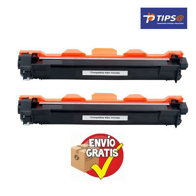 Brother PACK X 2 TONER TN1050 NEGRO 1.500 Paginas  CALIDAD PREMIUM