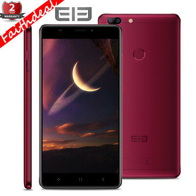"6"" Elephone C1 Max Android7.0 Téléphone 4Core 2+32GB 4G Smartphone 13MP 3*Caméra"