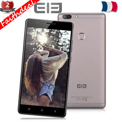 "6"" Elephone C1 Max 4Core 2GB+32GB 13MP 4G Android7.0 Téléphone Mobile 3*Cam 2SIM"