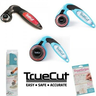 TrueCut Rotary Cutter 28mm, 45mm & 60mm + Sharpener