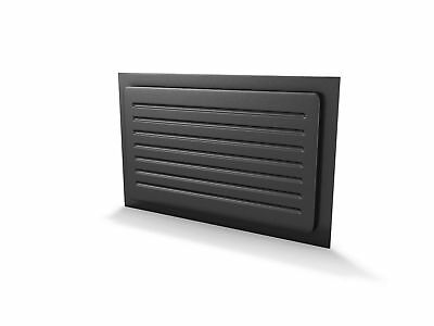 "Crawl Space Vent Cover Outward Mounted 18""L x 10""H 