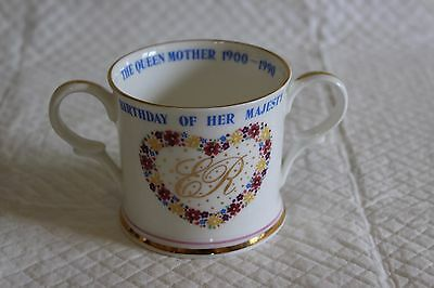 Royal Crown Duchy Loving Cup - Queen Mother 90th Birthday