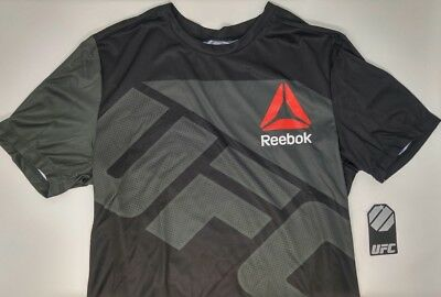 new style 21552 13b9f REEBOK CONOR MCGREGOR UFC Jersey - Men's M - Black