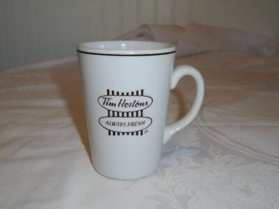 Tim Horton's Steelite England Coffee Mug 'Always Fresh' English & French EUC