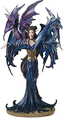 George S. Chen Imports SS-G-91276 Fairy Collection Pixie with Dragon Fantasy Fig