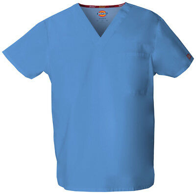 Dickies EDS 83706 Unisex V-Neck Top Medical Uniforms Scrubs