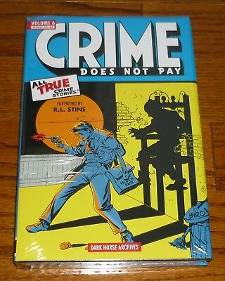 Crime Does Not Pay Archives Volume 6, DAMAGED, Dark Horse Comics hardcover, Biro