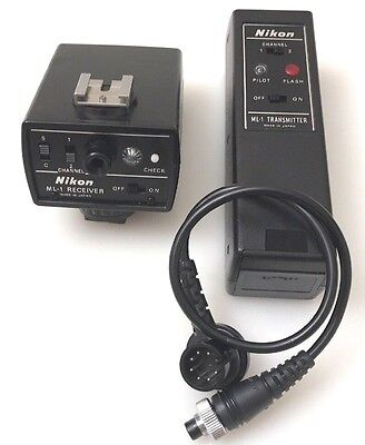 Nikon ML-1 Transmitter and Receiver Set with Cable