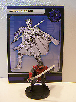 Star Wars Miniatures Legacy of the Force 2008 Antares Draco 18/60