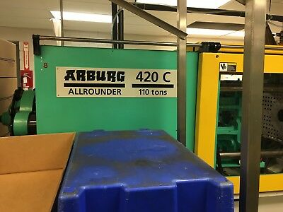 2002 110 Ton Arburg 420C1000-250, Injection Molding Machine-IMM # 7788026
