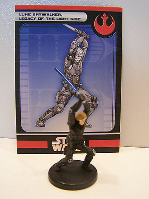 Star Wars Miniatures Legacy of the Force 2008 Luke Skywalker Light Side 15/60