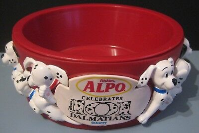 Alpo Disney Celebrates 101 Dalmatians Dog Food Bowl