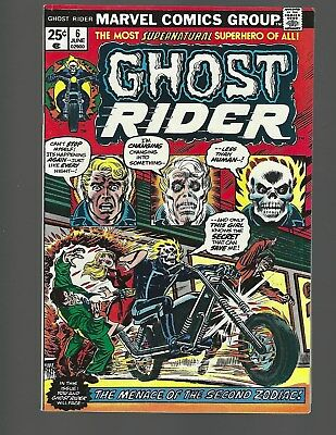 Ghost Rider #6 The Menace Of The Second Zodiac