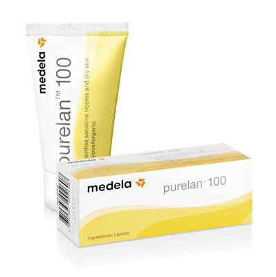 Purelan Lanolin Nipple Cream For Sore Cracked Nipples Hypoallergenic Medela 37g