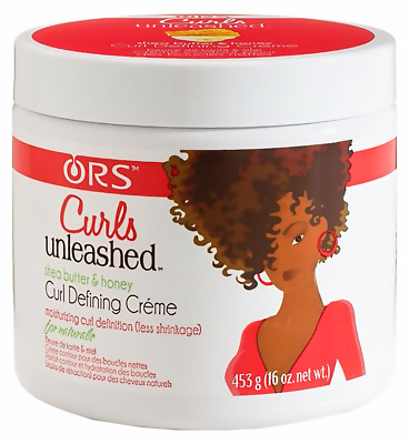 ORS Curls Unleashed Shea Butter&Honey Curl Defining Creme For Natural Hair 453g