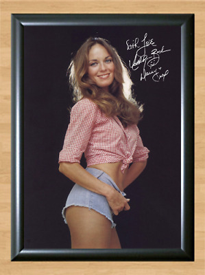 Catherine Bach Dukes of Hazzard Daisy Signed Autographed A4 Photo Print Poster 5