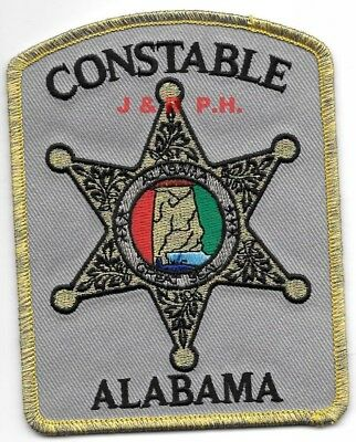 "Alabama  Constable  (3.5"" x 4.5"")  shoulder police patch (fire)"