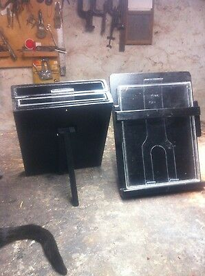 Silver and Fixer Bath Set 11x14  for Wet Plate Collodion