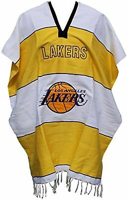 Basketball Team Serape Poncho Adult Size (Lakers)