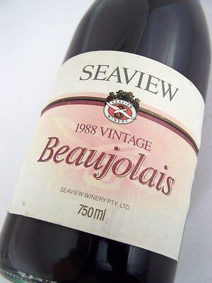 1988 SEAVIEW WINERY Beaujolais Red Blend A Isle of Wine