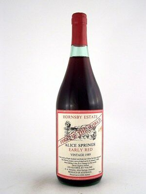 1989 HORNSBY ESTATE Early Red Blend Isle of Wine
