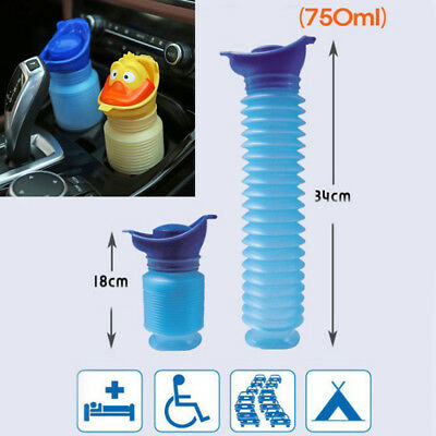 Portable Male Female Urinal Camping Hiking Travel Urination Toilet Urine Device